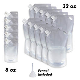 16 pack of Cruise Ship Flask Kit
